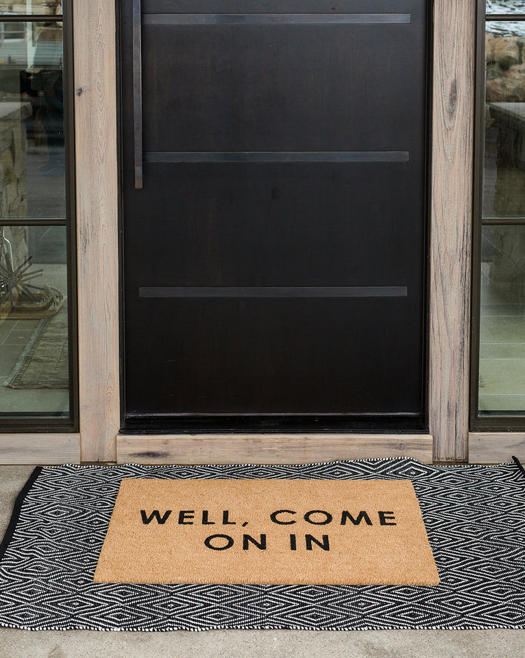 Well, Come On In Doormat
