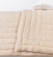 White Sand Cotton Quilt