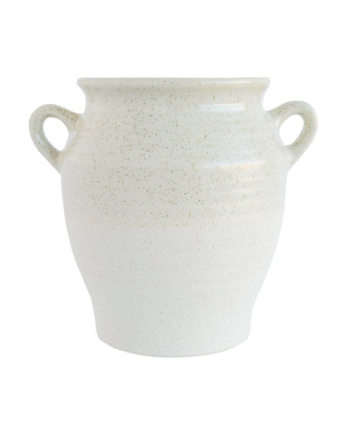 White Glaze Vessel
