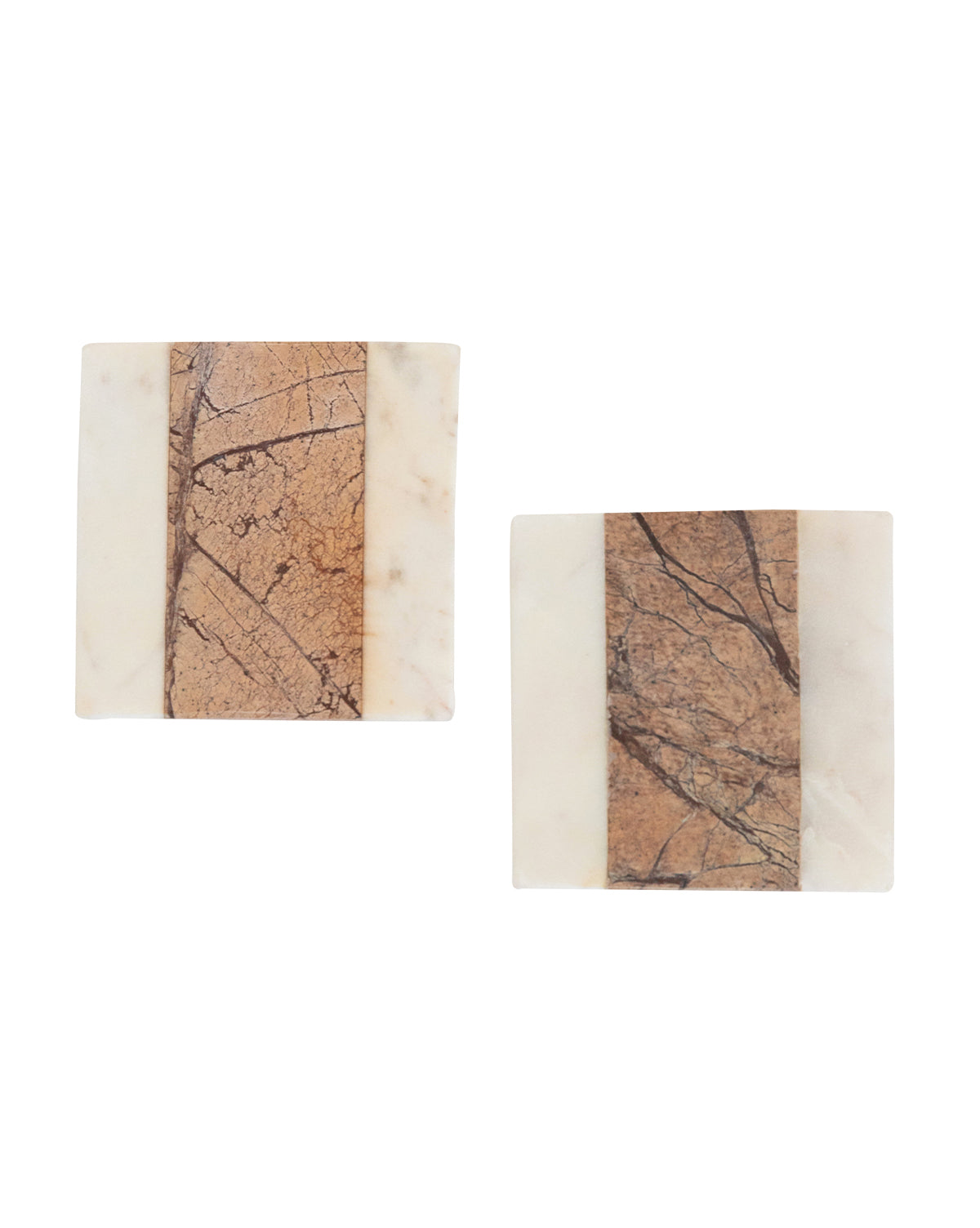 Stone Marble Coasters (Set of 4)