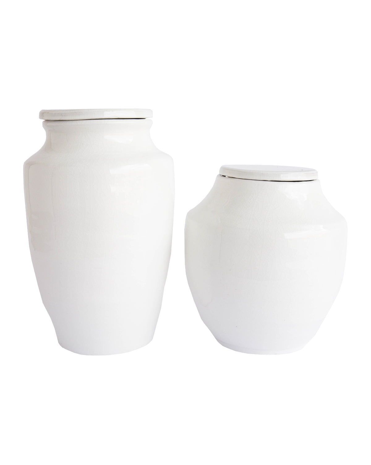 White Terracotta Jar