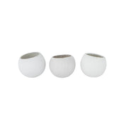 Whitewashed Natural Bell Cups