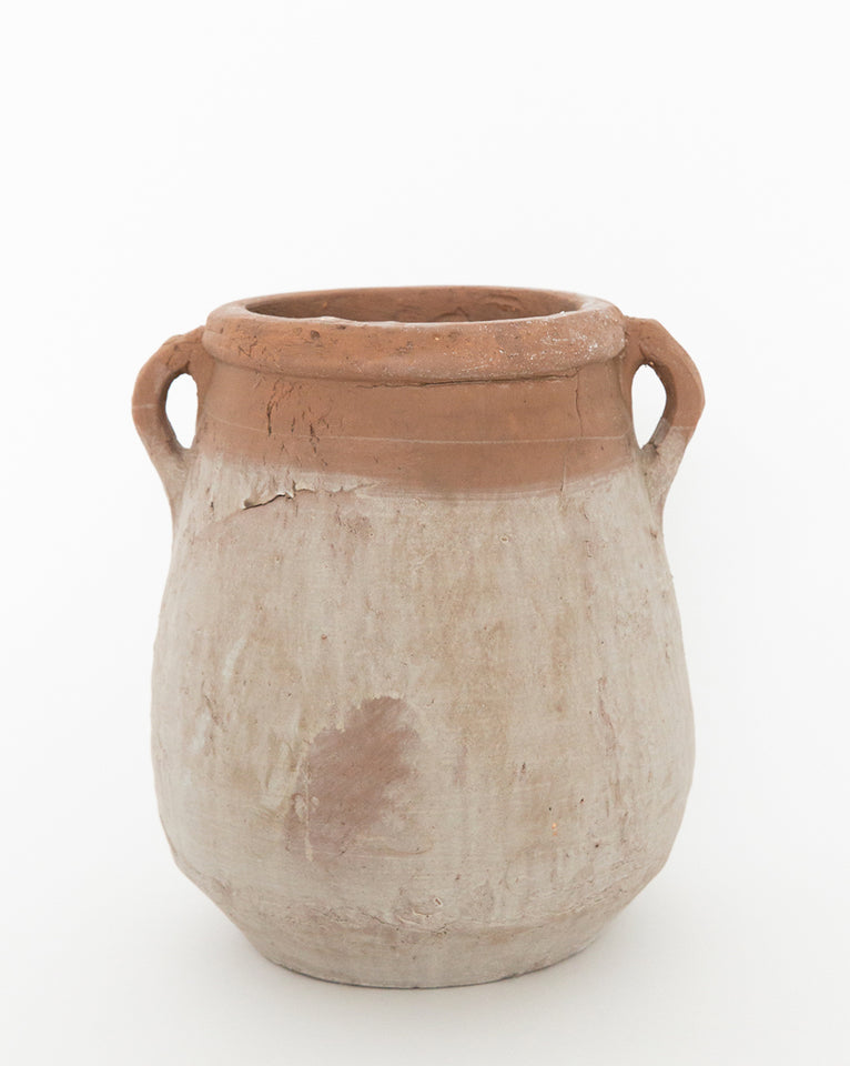 Whitewashed Urn