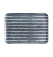 Wide Stripe Linen Tray