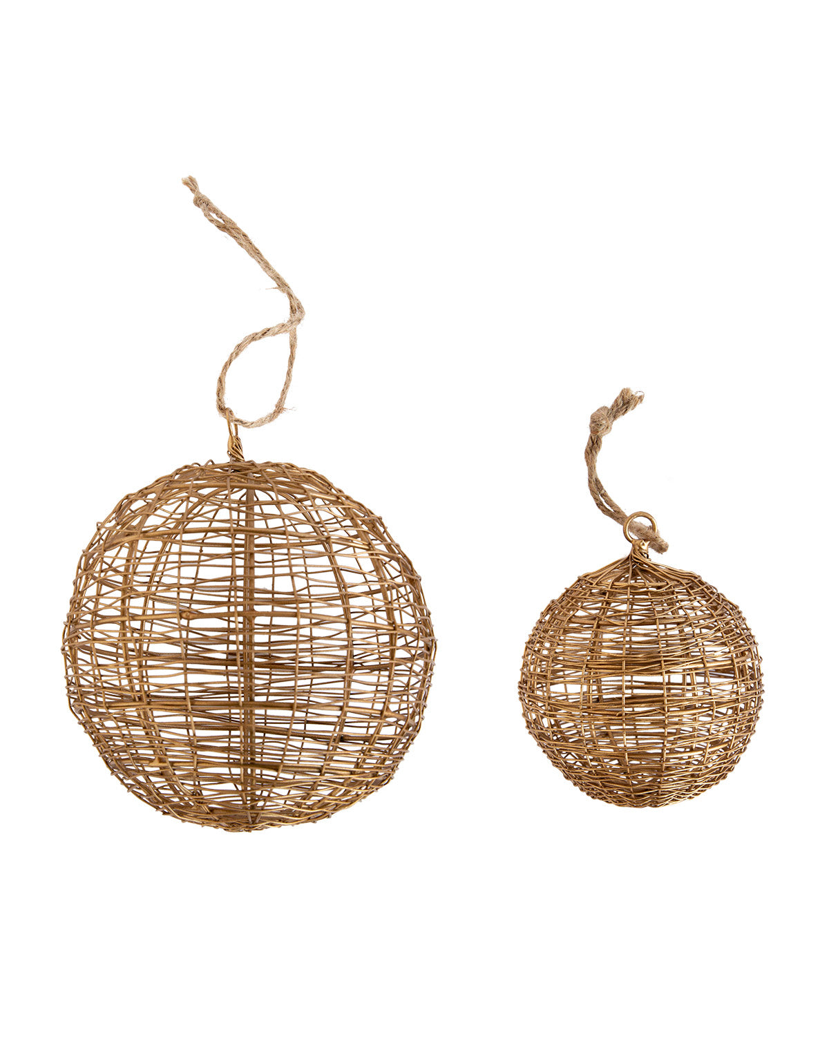 Wire Ball Ornament