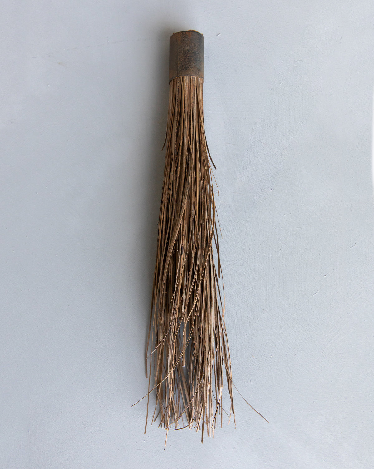 Wood & Metal Hand Broom