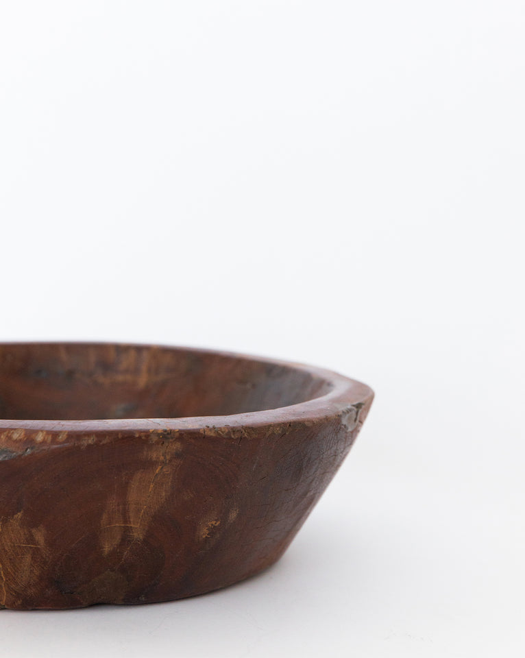 Wooden Dough Bowl