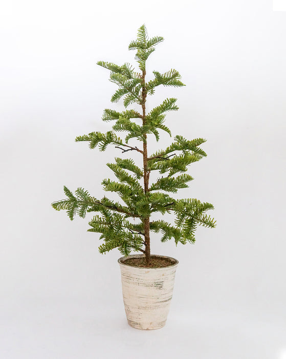 Woodland Pine Potted Faux Tree