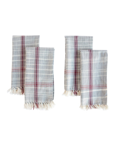 Woven Hatch Napkins (Set of 4)