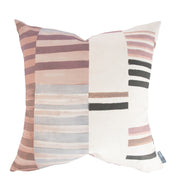 Zoey Patchwork Stripe Pillow Cover