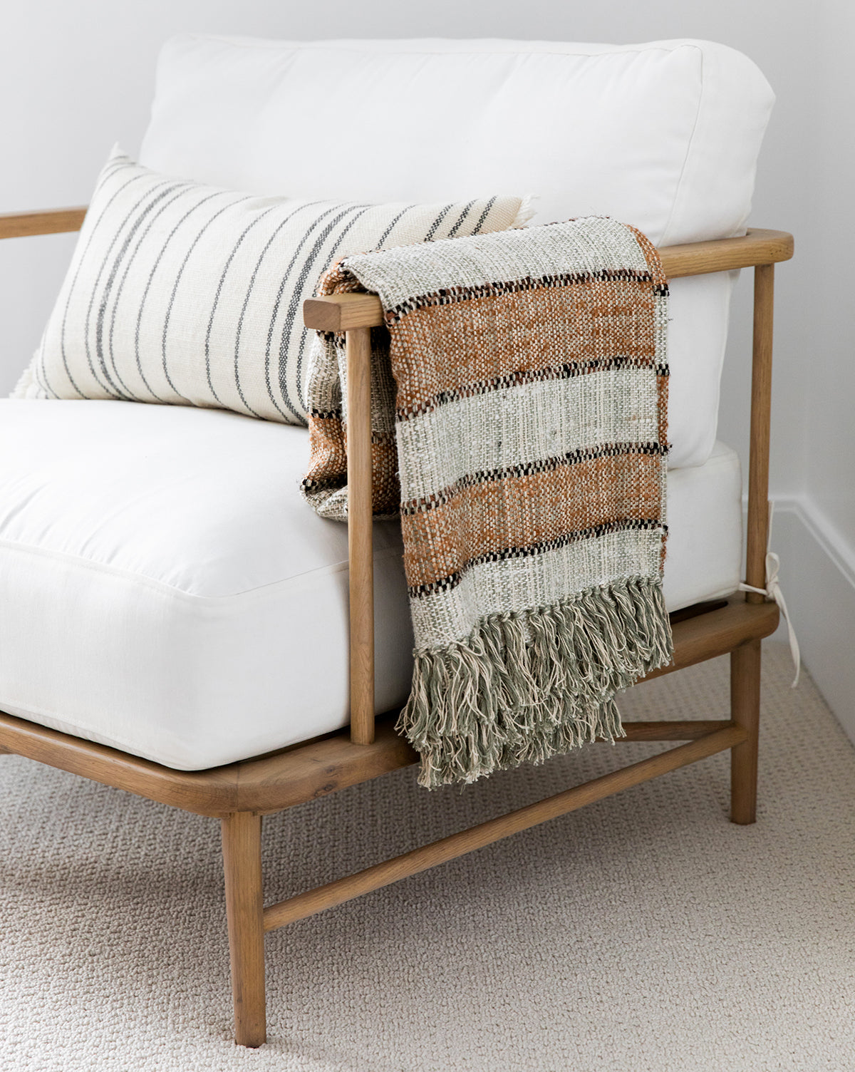 Oversized Stripes Throw