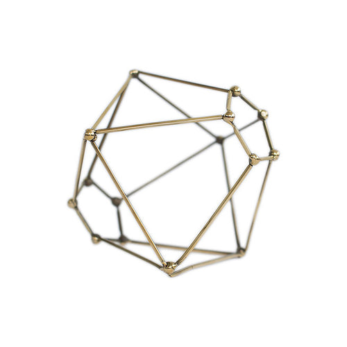 Brass Polyhedrons