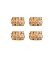 Cane Napkin Rings (Set of 4)