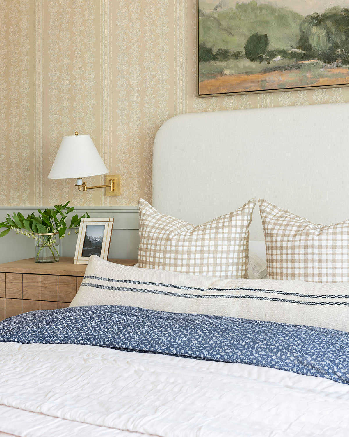 Edison Gingham Pillow Cover