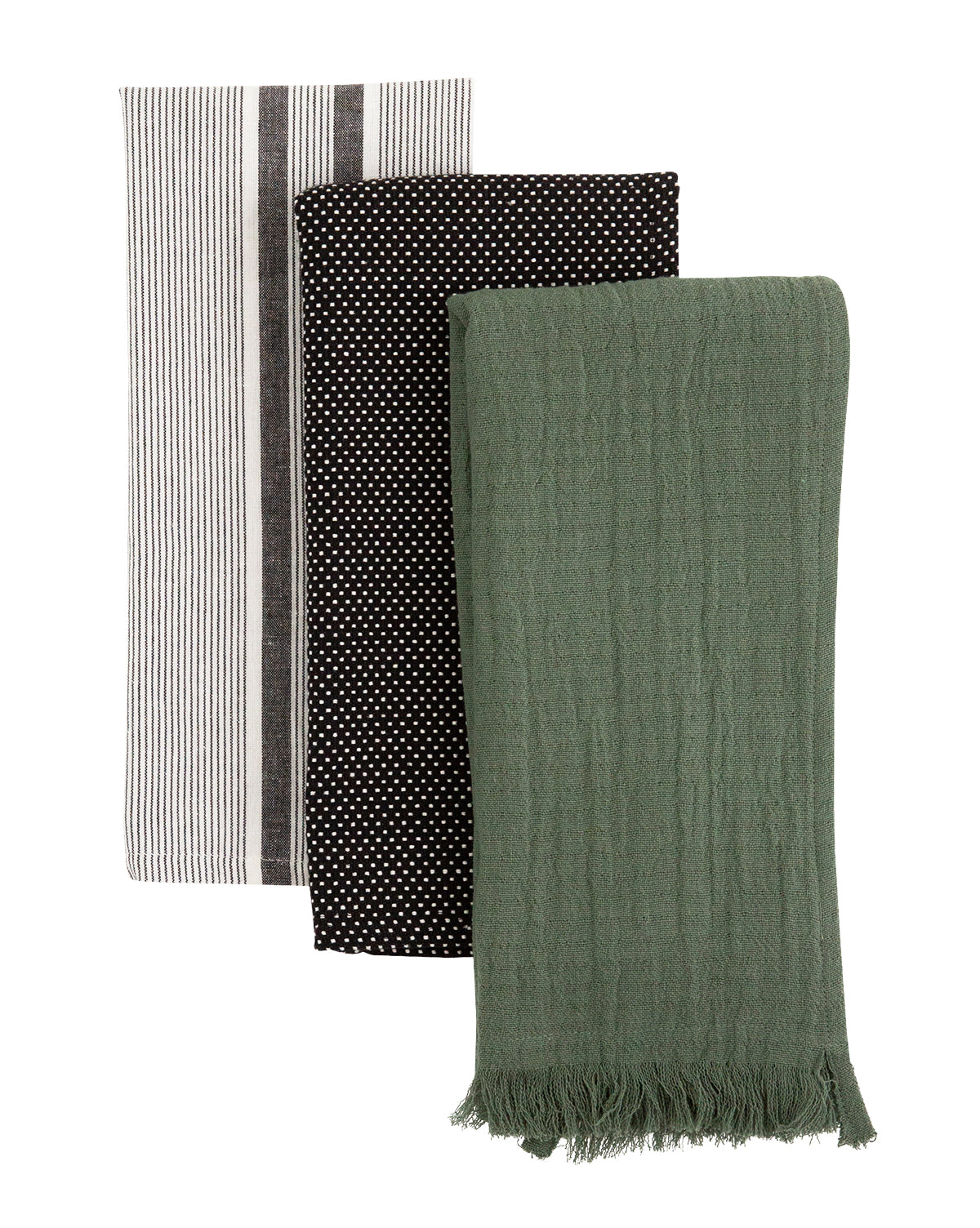 Forest Cotton Tea Towels (Set of 3)
