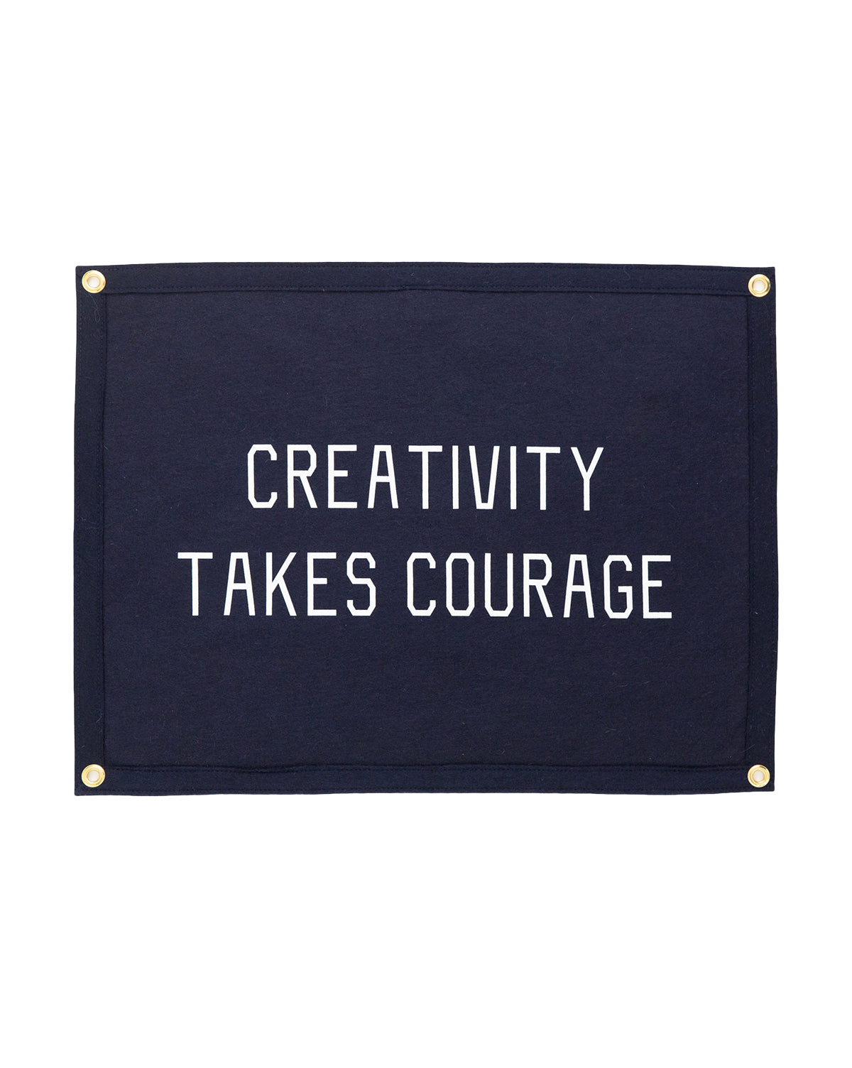 Creativity Takes Courage Flag