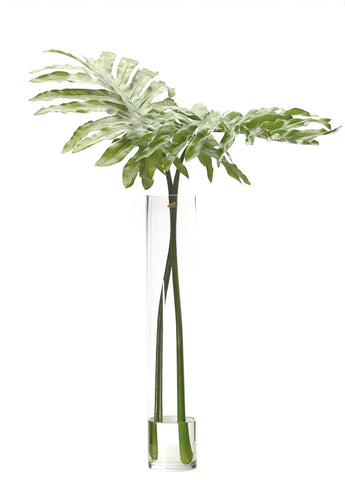 Faux Selloum Leaves Arrangement