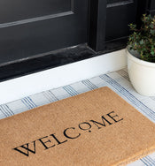 Welcome Dot Doormat