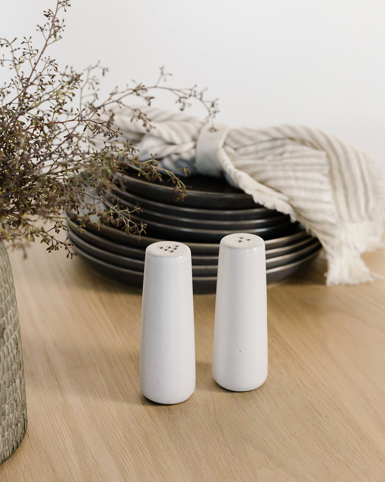 Ceramic Salt & Pepper Shakers