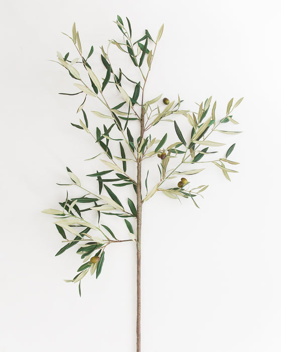 Faux Tuscan Olive Stem
