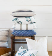 Franklin Gray Stripe Pillow Cover