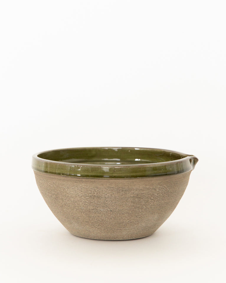 Green Terracotta Bowl