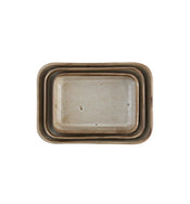 Hadi Stoneware Dishes (Set of 3)