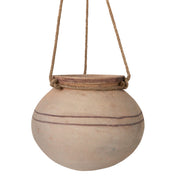 Hanging Clay Pot