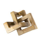 Interlocked Brass Object