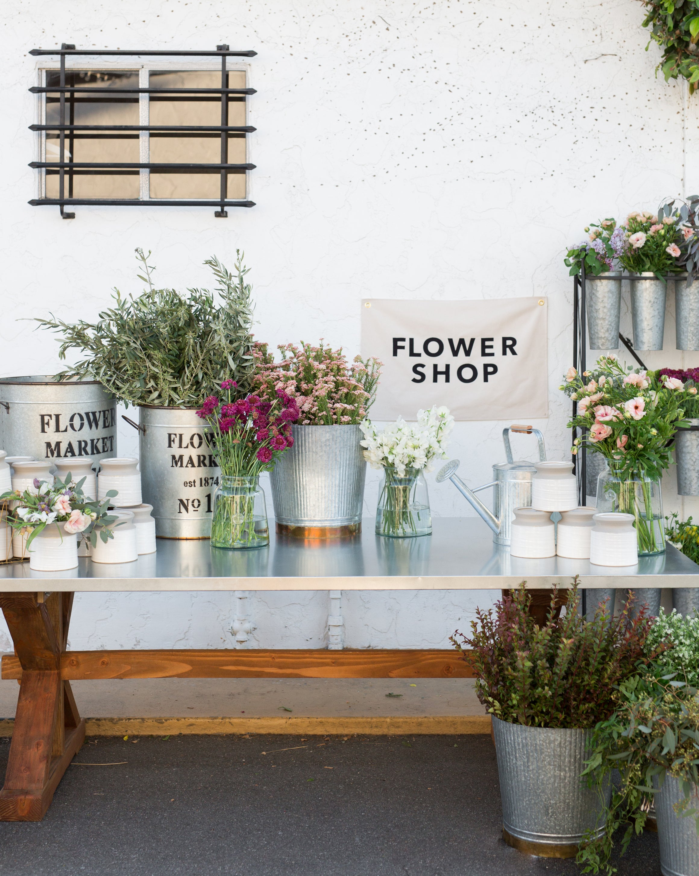 Flower Buckets Mcgee Co