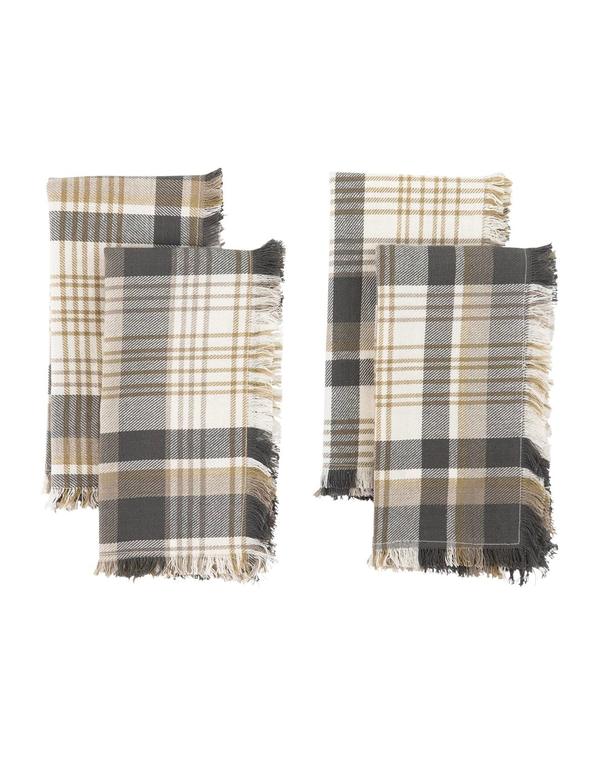 Montgomery Plaid Napkins (Set of 4)
