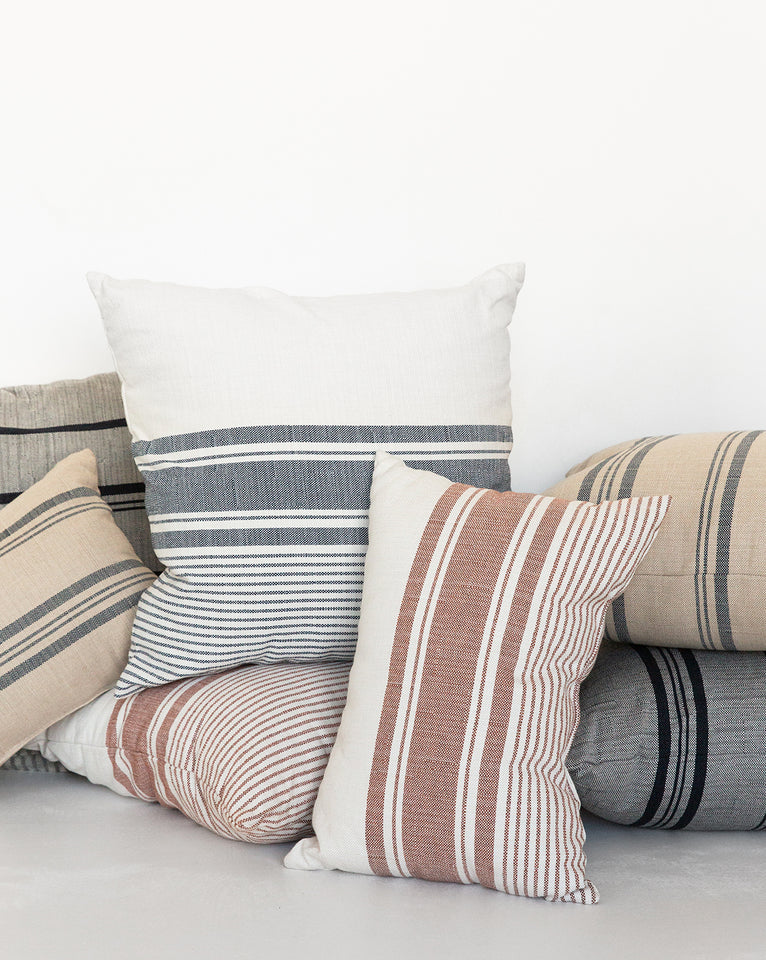 Sierra Stripe Indoor / Outdoor Lumbar Pillow