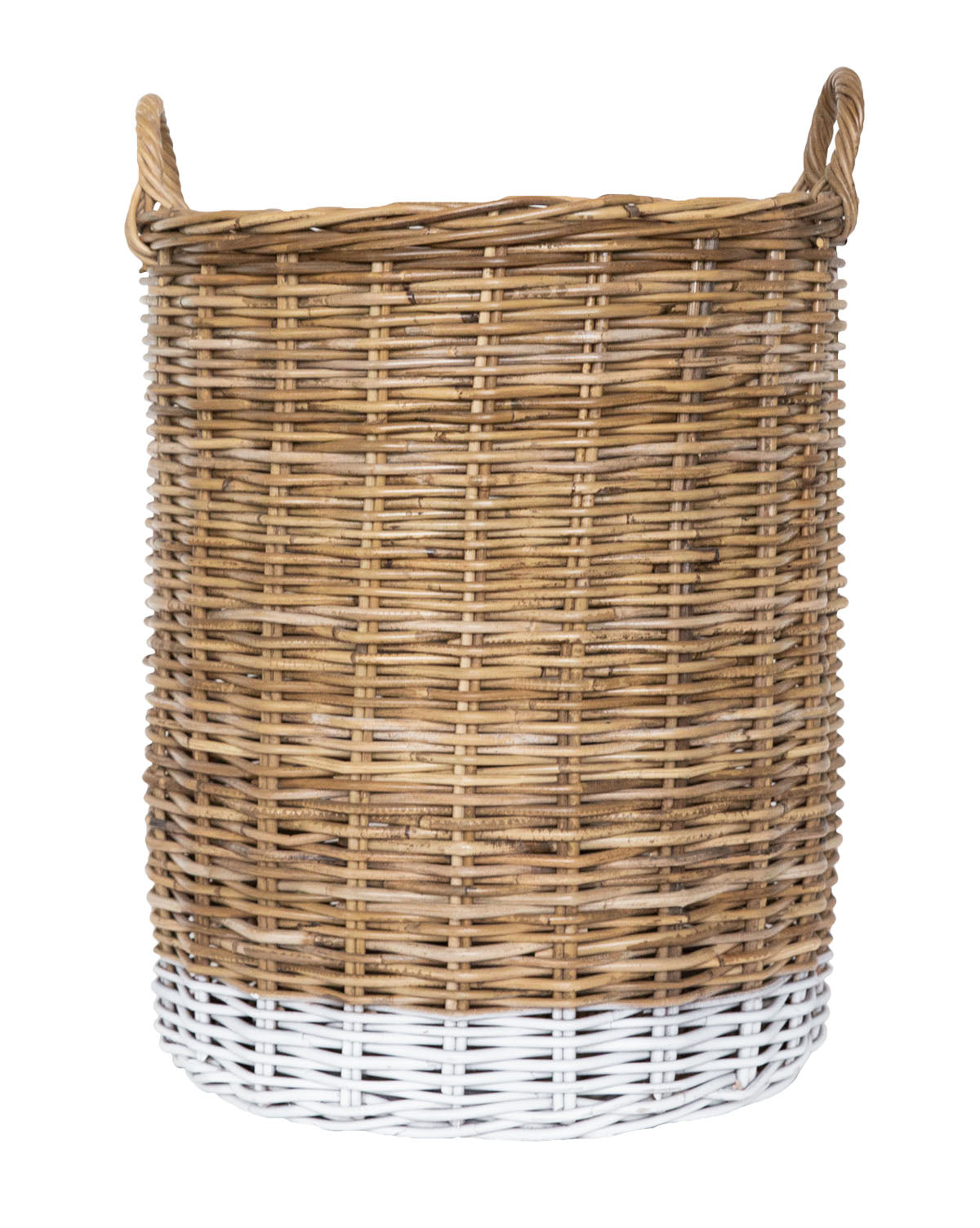 Dipped Rattan Basket