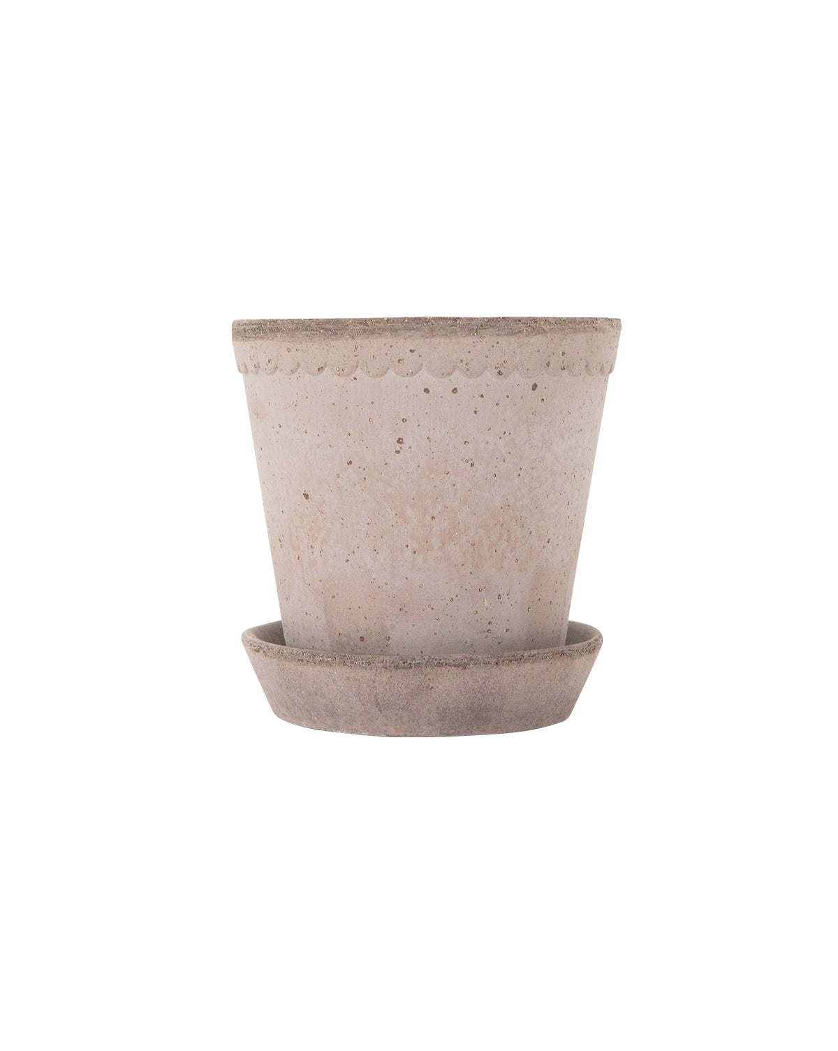 Scalloped Edge Pot