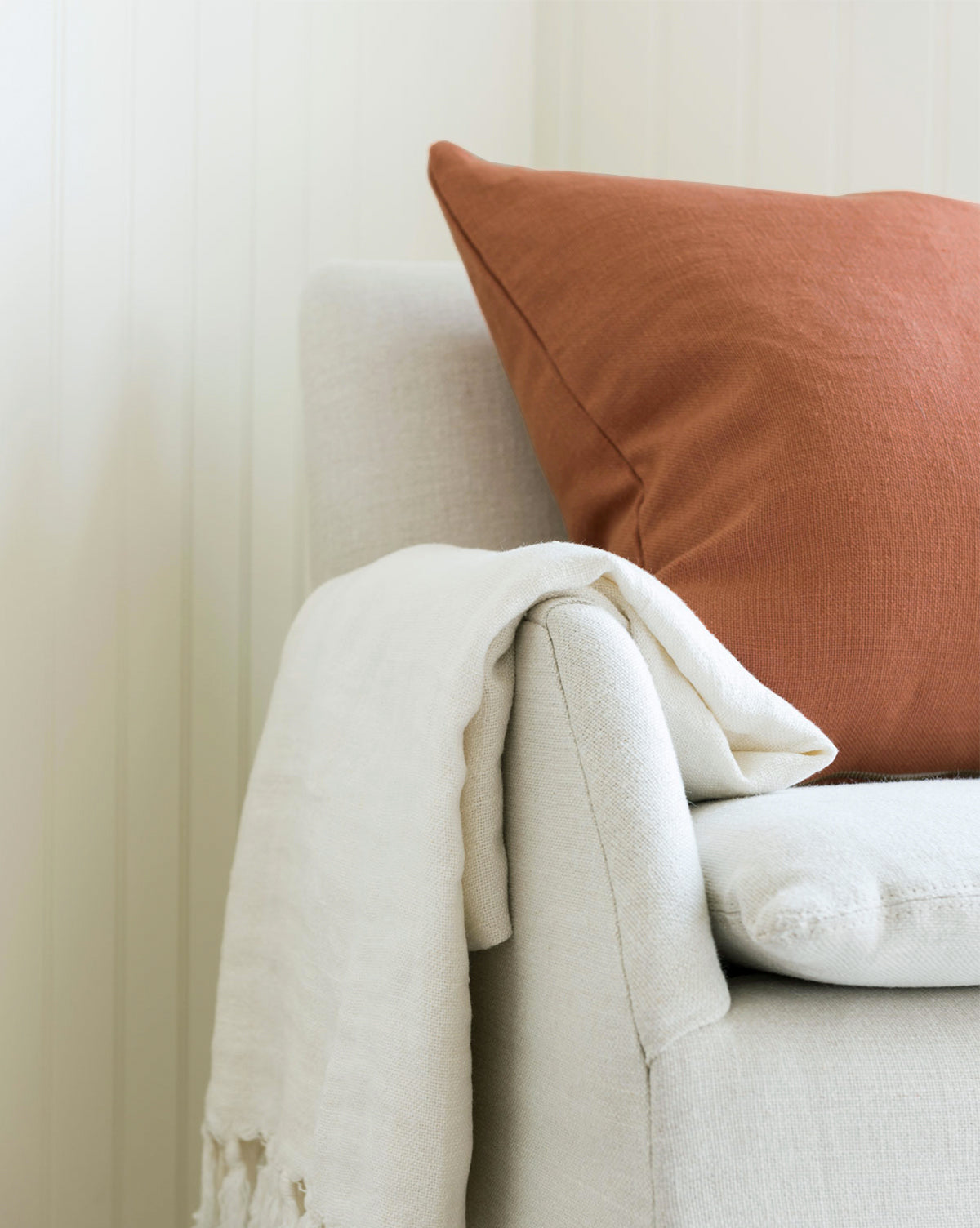 Sedona Rust Solid Pillow Cover