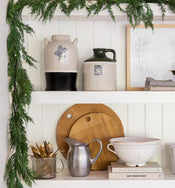 Faux Evergreen Garland