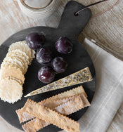 Marble & Wood Bread Board