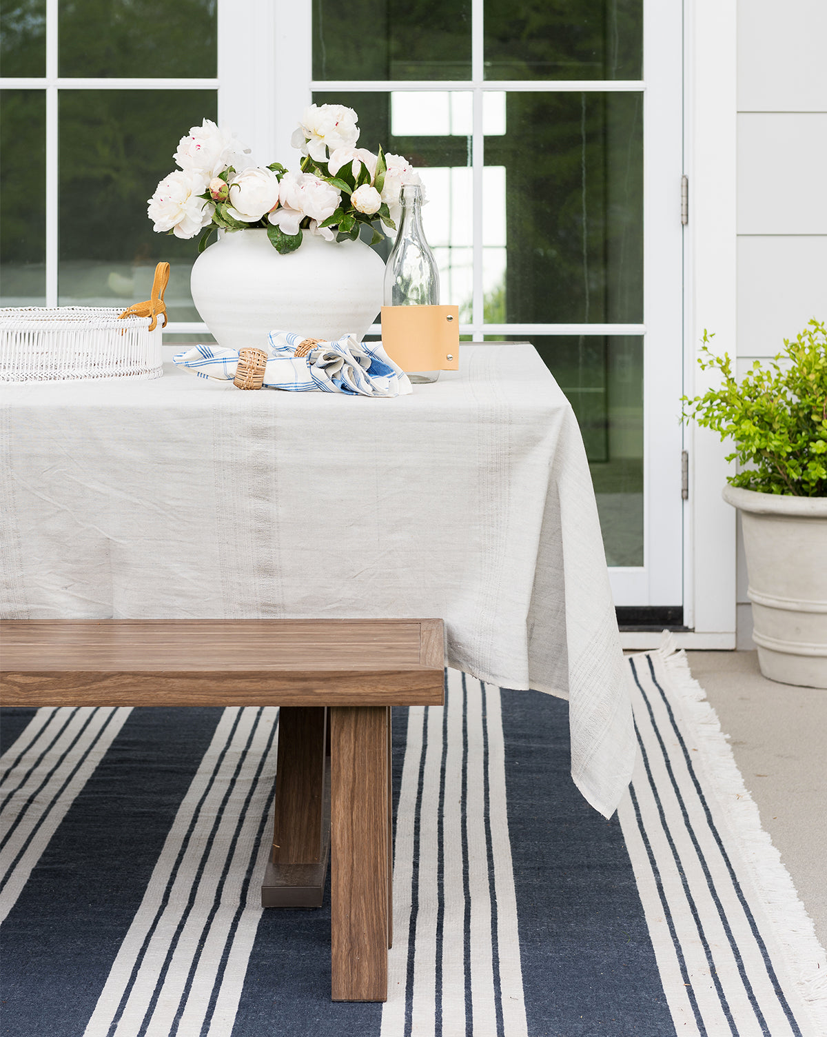 Arbor Stripe Indoor / Outdoor Rug