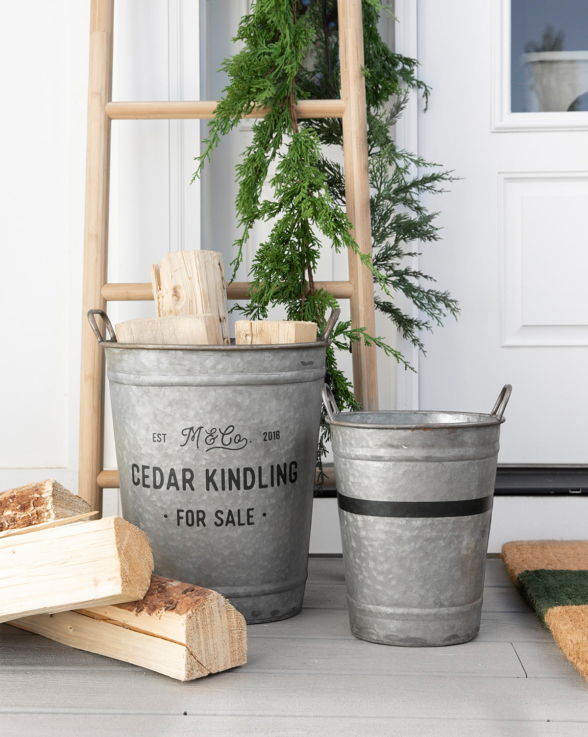 Evergreen Bucket