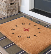 Merry + Bright Holiday Doormat