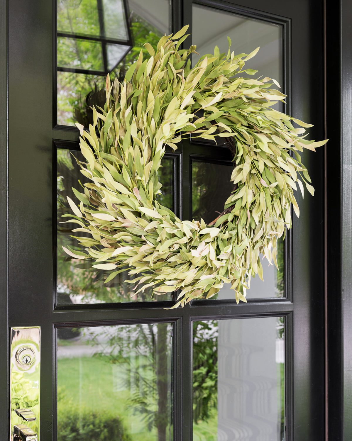 Faux Twisted Myrtle Wreath