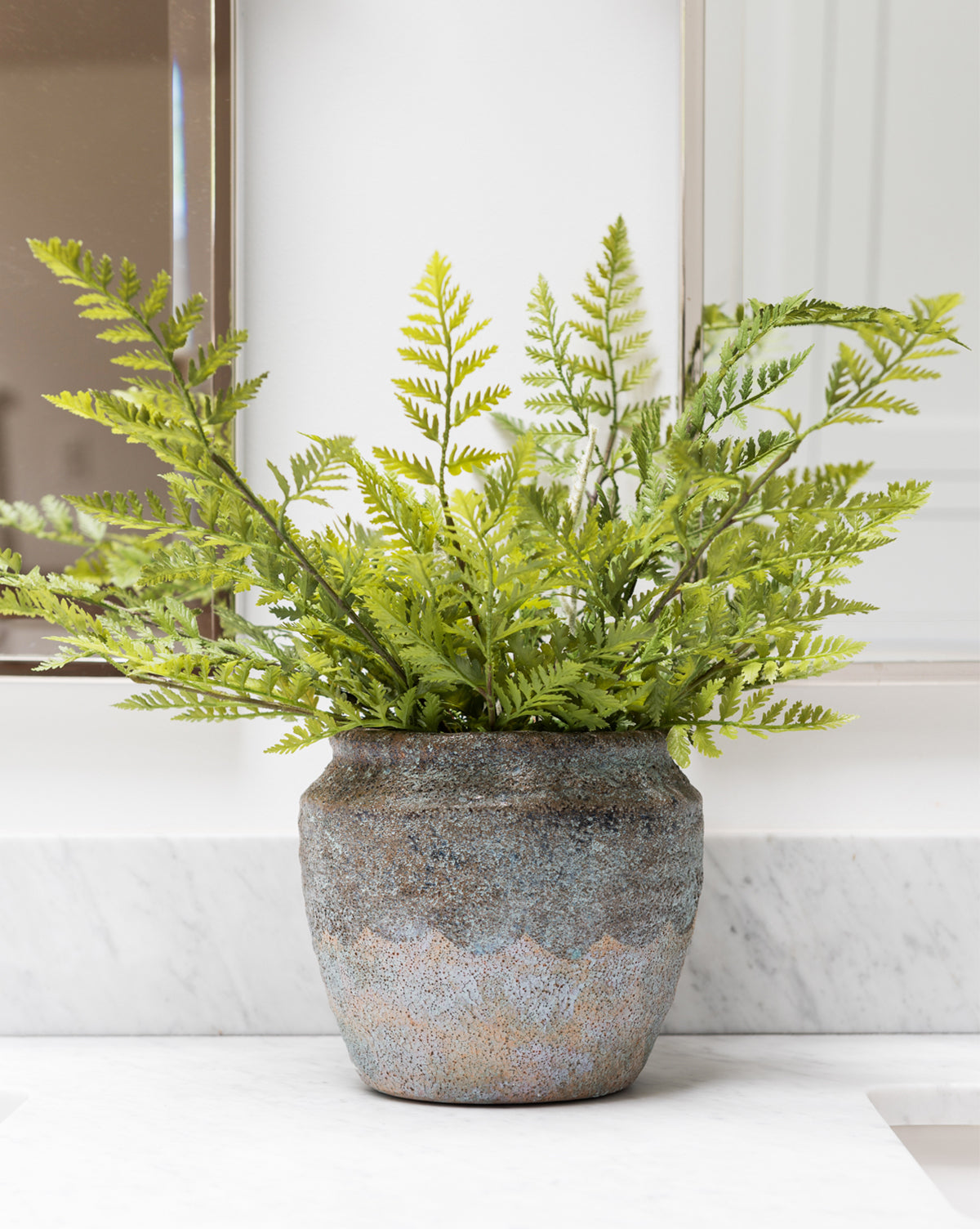 Faux Woodland Fern Drop-In