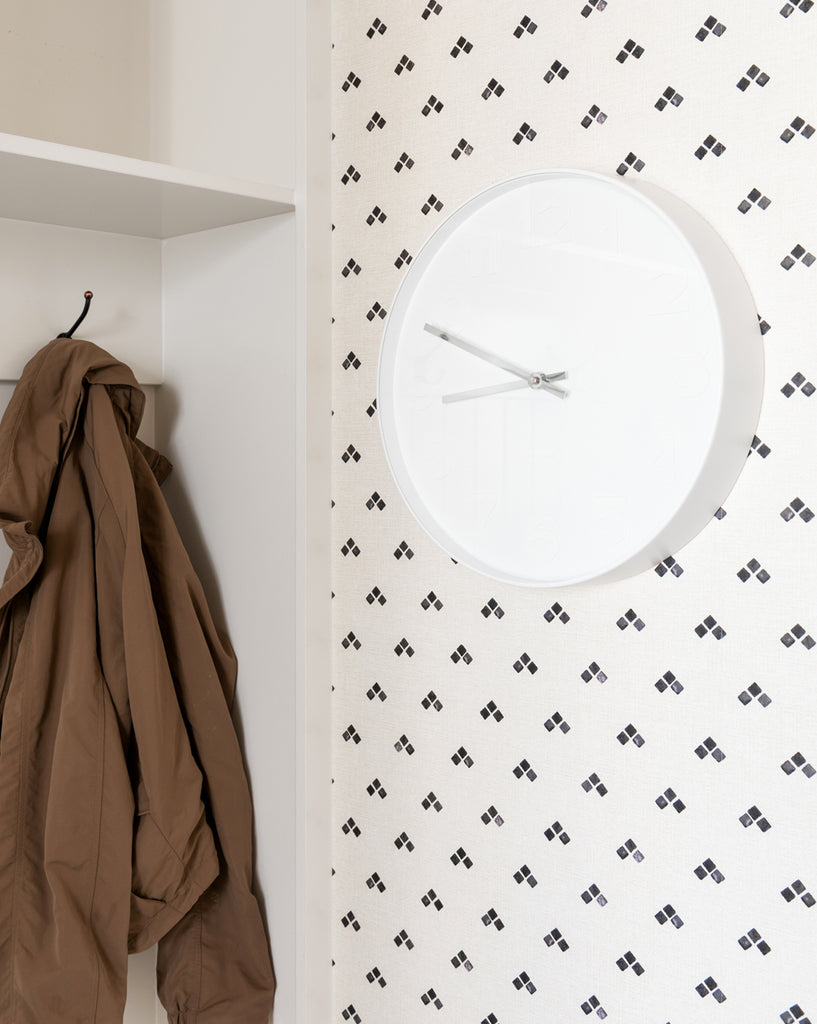Modern White Wall Clock – McGee & Co.