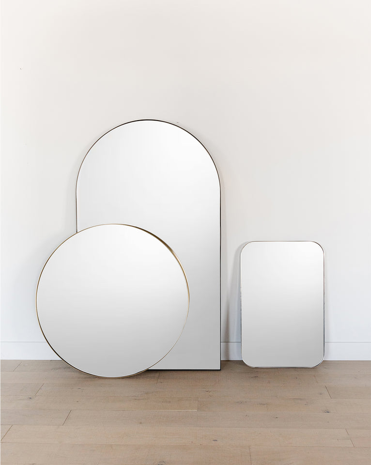 Jace Inset Circle Mirror