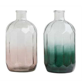 Tinted Glass Vases