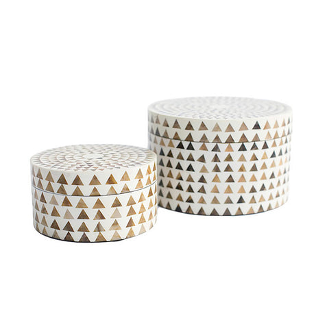 Triangle Round Boxes