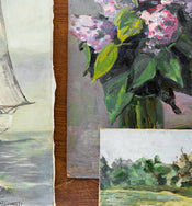 Vintage Nautical Painting