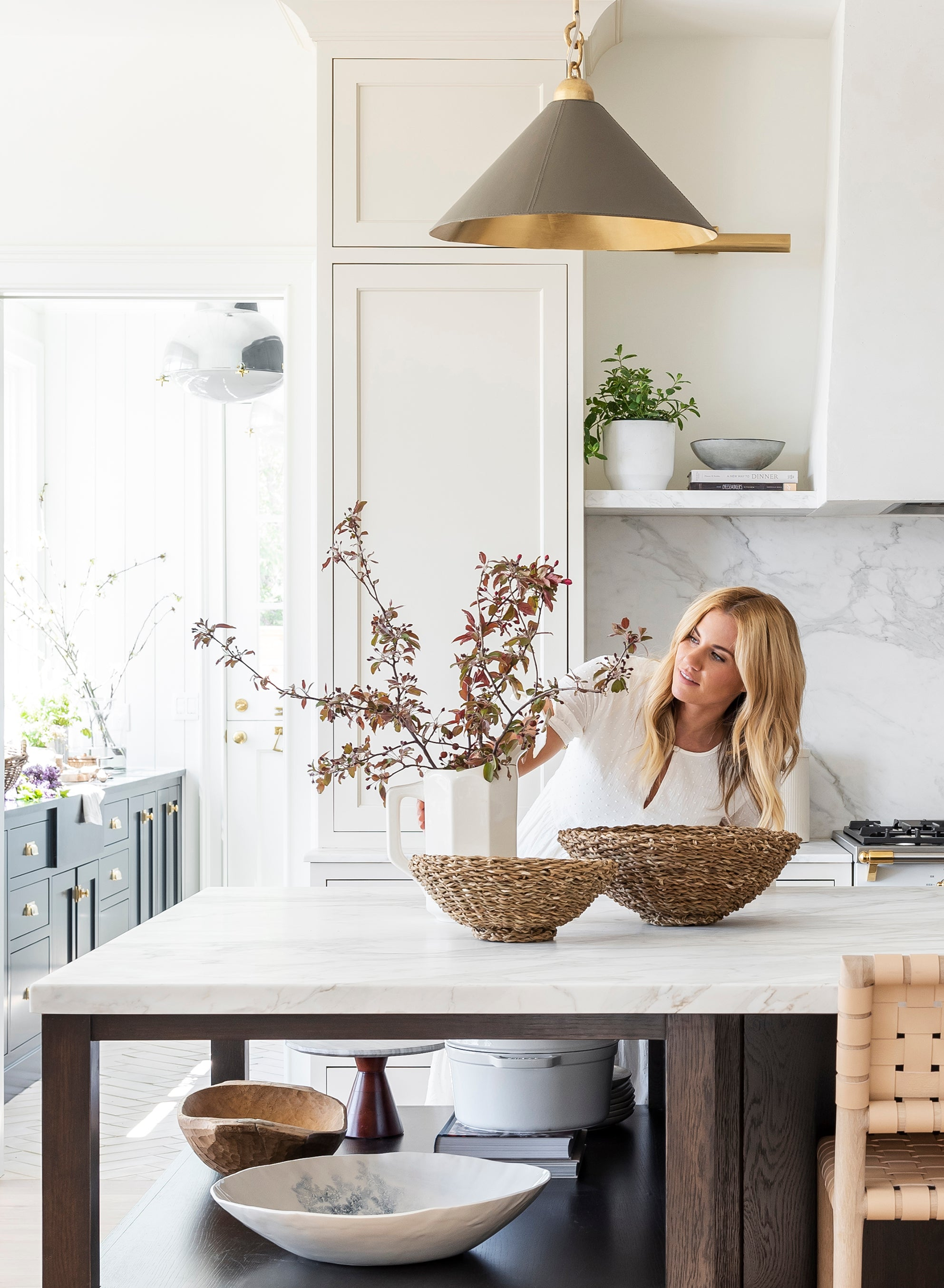 Shea McGee styling kitchen