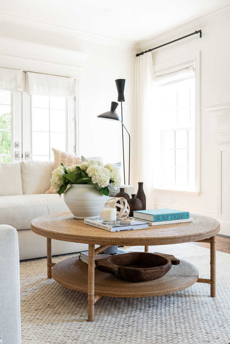 Shop The Look: Coastal Traditional Living Room