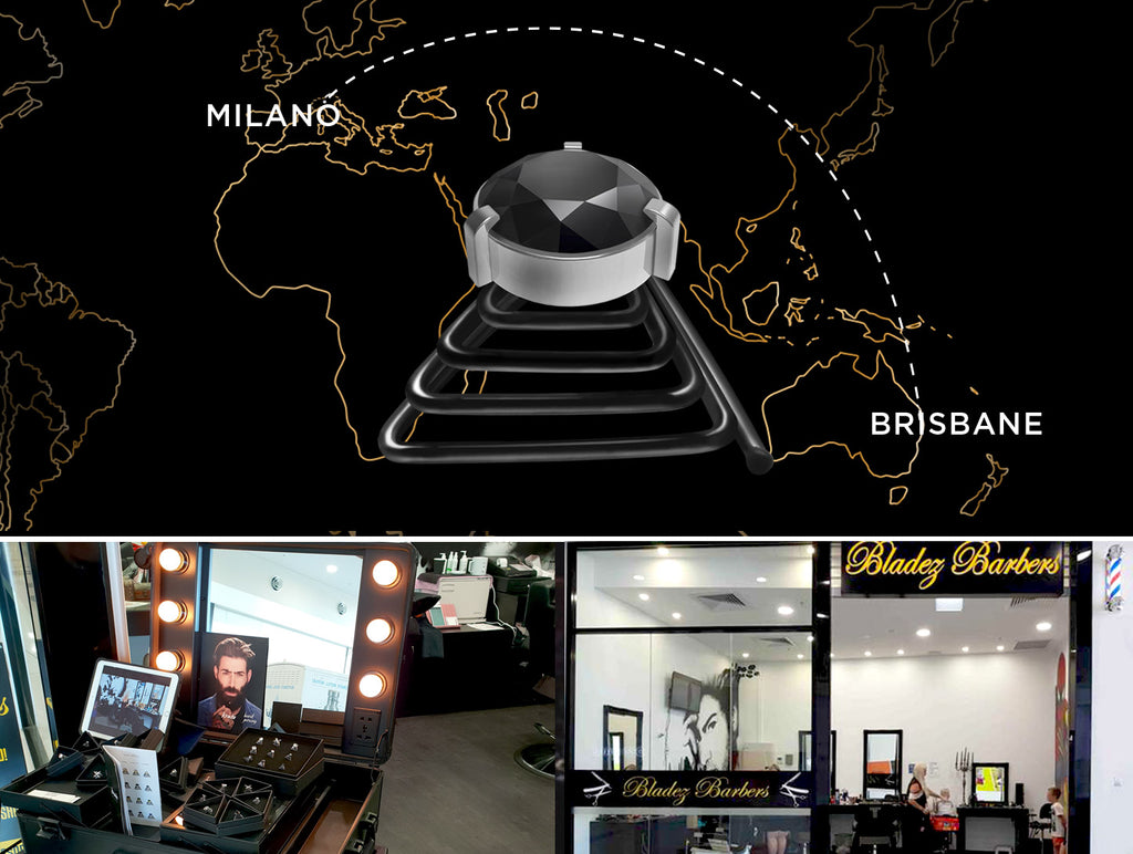 Bladez Barbers – Krato's new retail partner in Australia